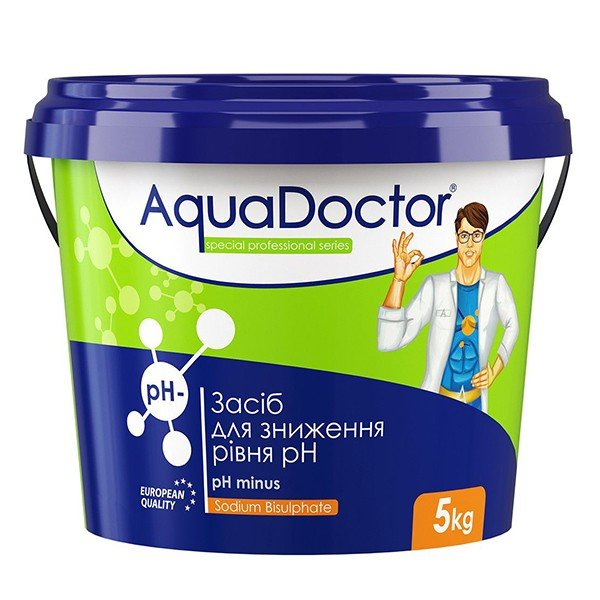 Средство для понижения pH Aquadoctor pH- (5 кг) гранулы